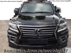 Обвес кузова аэродинамический. Lexus LX570, URJ201 Двигатель 3URFE