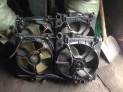 Радиатор охлаждения двигателя. Honda Torneo, CF4, CF3, CF5, CL3 Honda Accord, CL3, CF3, CF5, CF4, CF7, CH9, CF6 Двигатель F20B