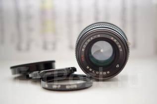 Объектив МС Волна-3 80mm 2.8. Для Зенит, диаметр фильтра 62 мм