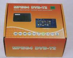 Цифровой TV-тюнер DVB-T2 для авто(USB, мультимедиа)