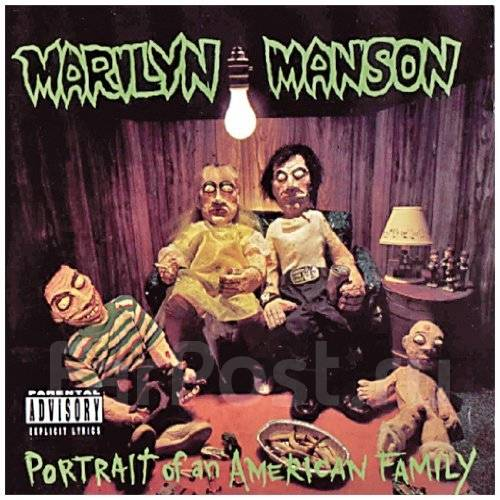 Marilyn Manson: Portrait of an American Family (CD/фирм. )