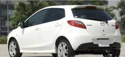Спойлер. Mazda Mazda2 Mazda Demio