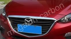 Дефлектор капота. Mazda Axela