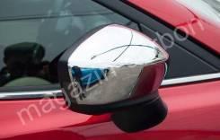 Накладка на зеркало. Mazda Axela, BM2FP, BM2FS, BM5AP, BM5AS, BM5FP, BM5FS, BMEFS, BYEFP Двигатели: P5VPS, PEVPH, PEVPR, SHVPTR