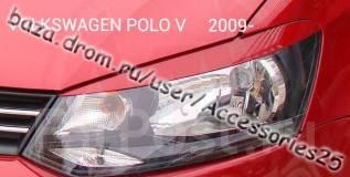 Накладка на фару. Volkswagen Polo, 602, 612, 6R1 Двигатели: CBZB, CDDA, CFNA, CFNB, CGGB, CGPA, CGPB, CLPA, CLSA. Под заказ