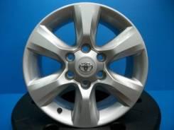 Toyota Land Cruiser Prado. 7.5x17, 6x139.70, ET25, ЦО 106,2мм.