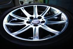 Хромированные Flagrado BMW 5,7 серии на шинах R18 255/45 Dunlop. 8.5x18 5x120.00 ET20 ЦО 74,1мм.