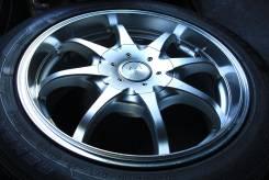 Полировка колеса Weds Leonis R16 + Nankang Remex RX615 205/55. 7.0x16 4x114.30, 5x114.30 ET38 ЦО 73,0мм.