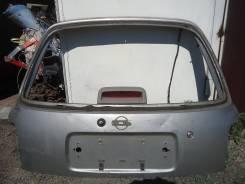 Крышка багажника. Nissan March, 11