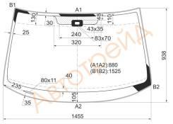 Стекло лобовое в клей SKODA YETI 5D SUV 2009- XYG YETI-VCSY LFW/X