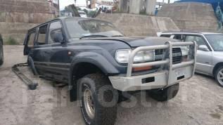 Решетка радиатора. Toyota Land Cruiser, HDJ81, HDJ81V Двигатель 1HD