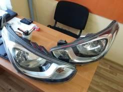 Фара. Hyundai Solaris, RB Двигатели: G4FA, G4FC. Под заказ
