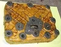Головка блока цилиндров. ЧТЗ Т-130