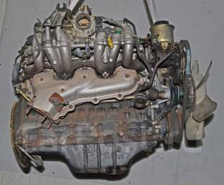Двигатель в сборе. Toyota Crown, GS131H, GS131 Двигатель 1GE