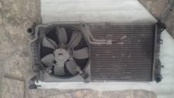 Радиатор охлаждения двигателя. Dodge Caravan Chrysler Voyager