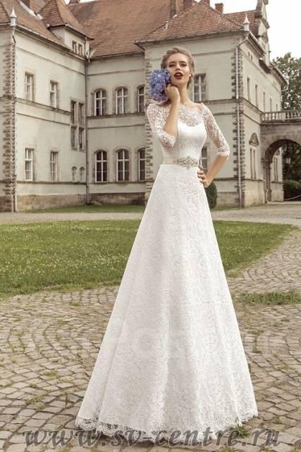 Платье свадебное гипюровое фото