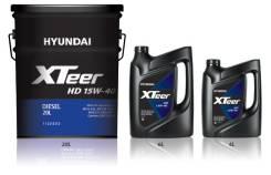 Hyundai. Вязкость 15W40, полусинтетическое