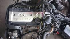 Двигатель в сборе. Hyundai Getz, TB Kia Rio Двигатель G4EE