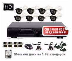 Камеры видеонаблюдения. Под заказ