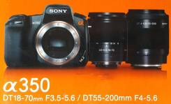 Sony Alpha DSLR-A350 Kit. 10 - 14.9 Мп