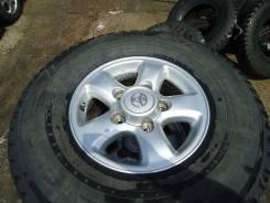 Toyota. 8.0x16, 5x150.00, ЦО 112,0мм.