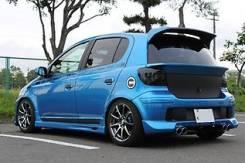 Спойлер багажника. Toyota Vitz