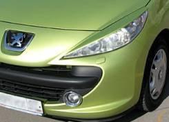 Накладка на фару. Peugeot 207