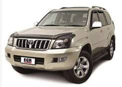 Дефлектор капота. Toyota Land Cruiser Prado, 120