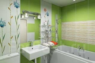 Ремонт ванной под ключ, ремонт квартир