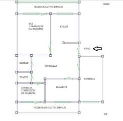 4-комнатная, Арсеньева ул 26. Рудная Пристань, частное лицо, 81 кв.м.