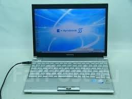 Toshiba Dynabook SS. 12дюймов (30см), 2,4ГГц, ОЗУ 1024 Мб, WiFi, Bluetooth, аккумулятор на 6 ч.