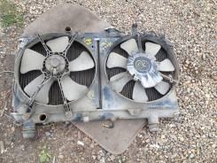 Радиатор охлаждения двигателя. Toyota Carina, AT191 Двигатель 7AFE