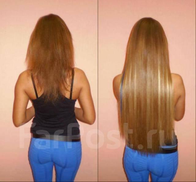 Наращивание волос недорого на дому спб