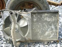Радиатор охлаждения двигателя. Toyota Corolla, EE107 Двигатель 3E