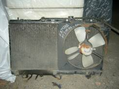 Радиатор охлаждения двигателя. Toyota Carina, AT211 Двигатели: 7AFE, T