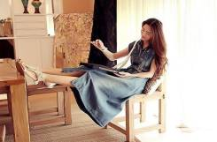Платья джинсовые. 46, 48, 50, 52