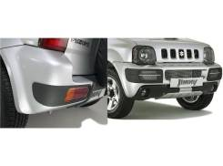 Накладка на бампер. Suzuki Jimny