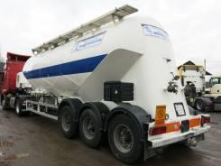ПТС 3. Полуприцеп цистерна Heil BT44/3 цементовоз 2001 г., 30 000 кг.