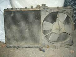 Радиатор охлаждения двигателя. Toyota Corolla, CE109 Двигатель 2C