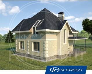 M-fresh Simple-зеркальный (Покупайте сейчас проект со скидкой 20%! ). 100-200 кв. м., 1 этаж, 4 комнаты, бетон