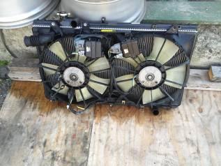 Радиатор охлаждения двигателя. Toyota Aristo, JZS161 Двигатели: 2JZGTE, 2JZGE, 2JZ, GTE