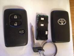 Ключ зажигания. Toyota Prius C Toyota Prius