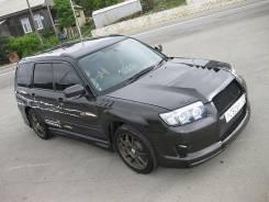 Капот. Subaru Forester, SG5, SG9