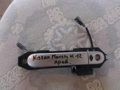 Ручка двери внешняя. Nissan March, AK12 Двигатель CR12DE