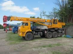 Галичанин КС-55713-5. Автокран 25 тонн Галичанин КС-55713-5, шасси Камаз-43118(6х6), 10 000 куб. см., 25 000 кг., 21 м.