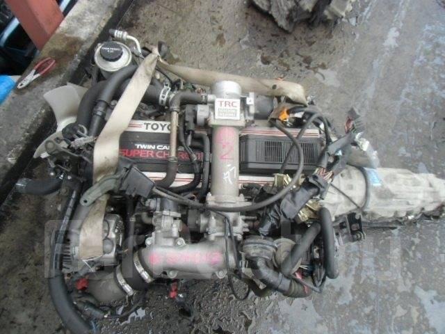 Контрактный б/у двигатель 1G-GZE на Toyota