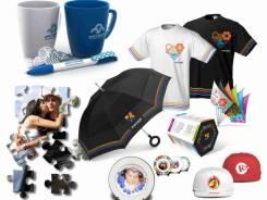 Печать на футболках, на кепках! Подарки с логотипом! Наградная продукция!