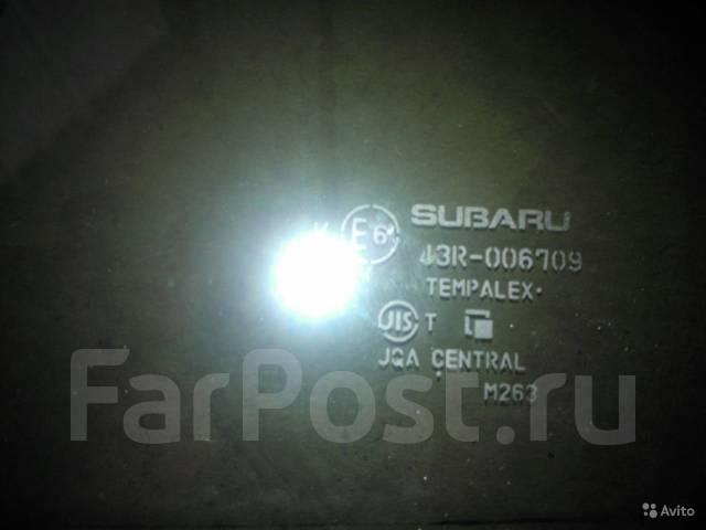 Стекло боковое. Subaru Impreza, GP2, GP3, GP6, GP7 Subaru XV, GP, GP7, GPE Двигатели: EJ16A, EJ20A, FB20
