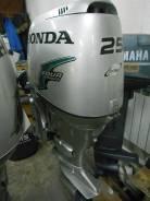 Honda. 25,00л.с., 4х тактный, бензин, нога S (381 мм), Год: 2005 год