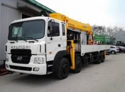 Hyundai HD320. с КМУ Soosan (16 тонн), 11 149 куб. см., 25 000 кг. Под заказ